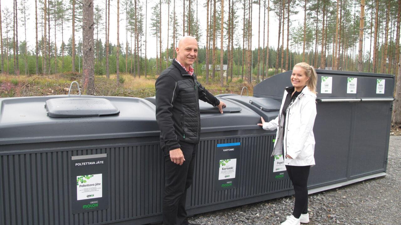 Salla-Maria ja Timo korttelikeräys