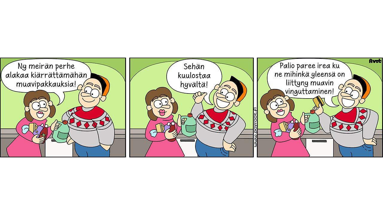 pöyrööt sarjakuva