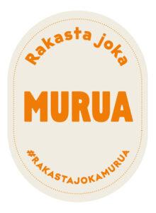 Rakasta joka murua -logo